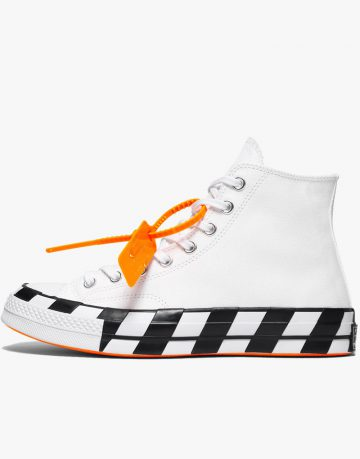 All Star Converse Off White High Tops Shoes