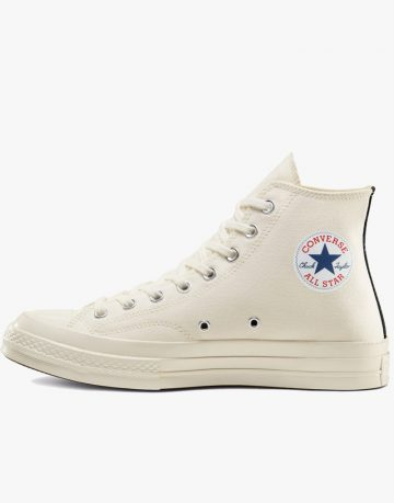 Converse CDG Play All Star High Top White