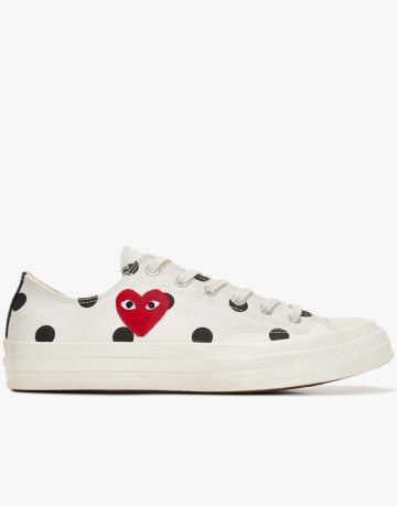 Converse Play Polka All Star Low Tops Shoes